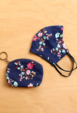 Malia Designs Dainty Floral Face Mask & Case Set