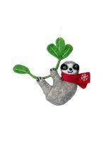 dZi Snowflake Sloth Ornament