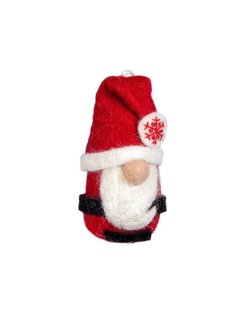dZi Chubby Santa Ornament