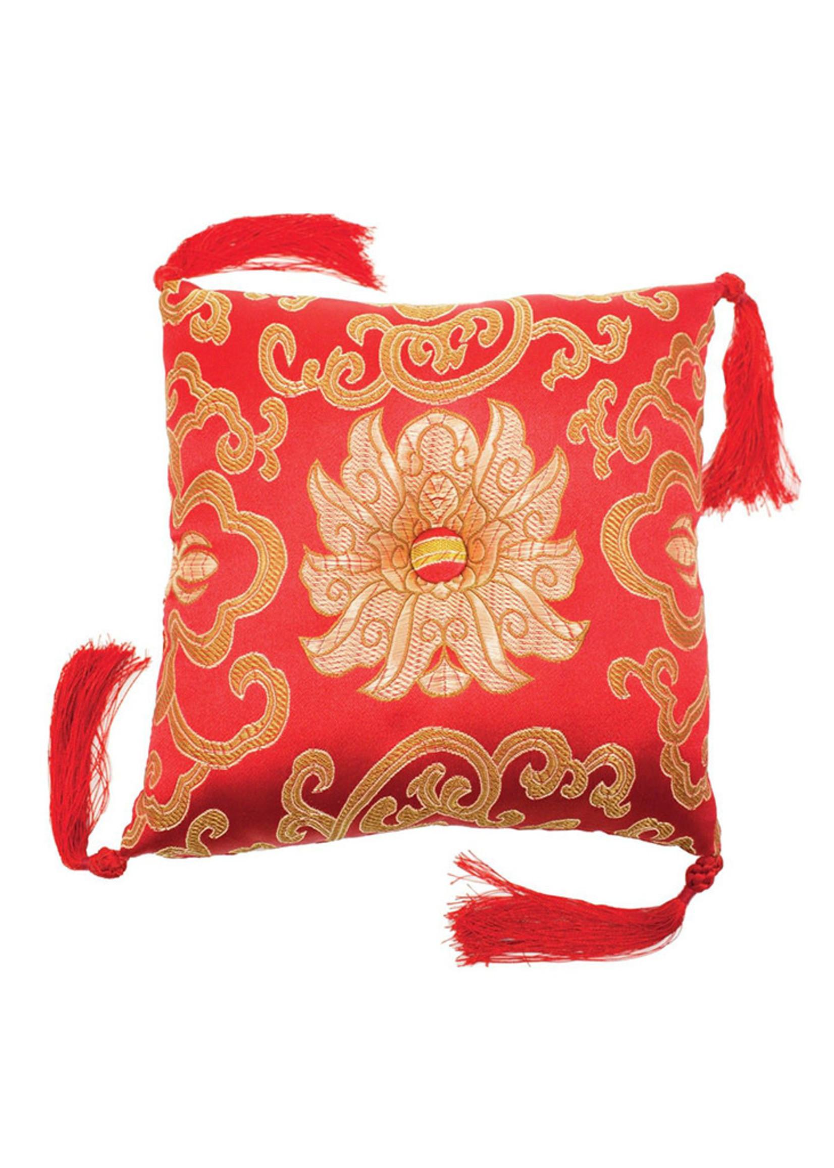 dZi Singing Bowl Cushion