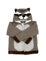 Kid's Raccoon Sweater