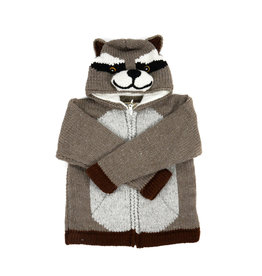 Kid's Raccoon Sweater