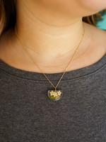 Belart Half Moon Elderberry Necklace