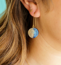 Belart Mini Moon Ocean Earrings