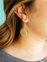 Belart Moon Flowers in the Wind Earrings
