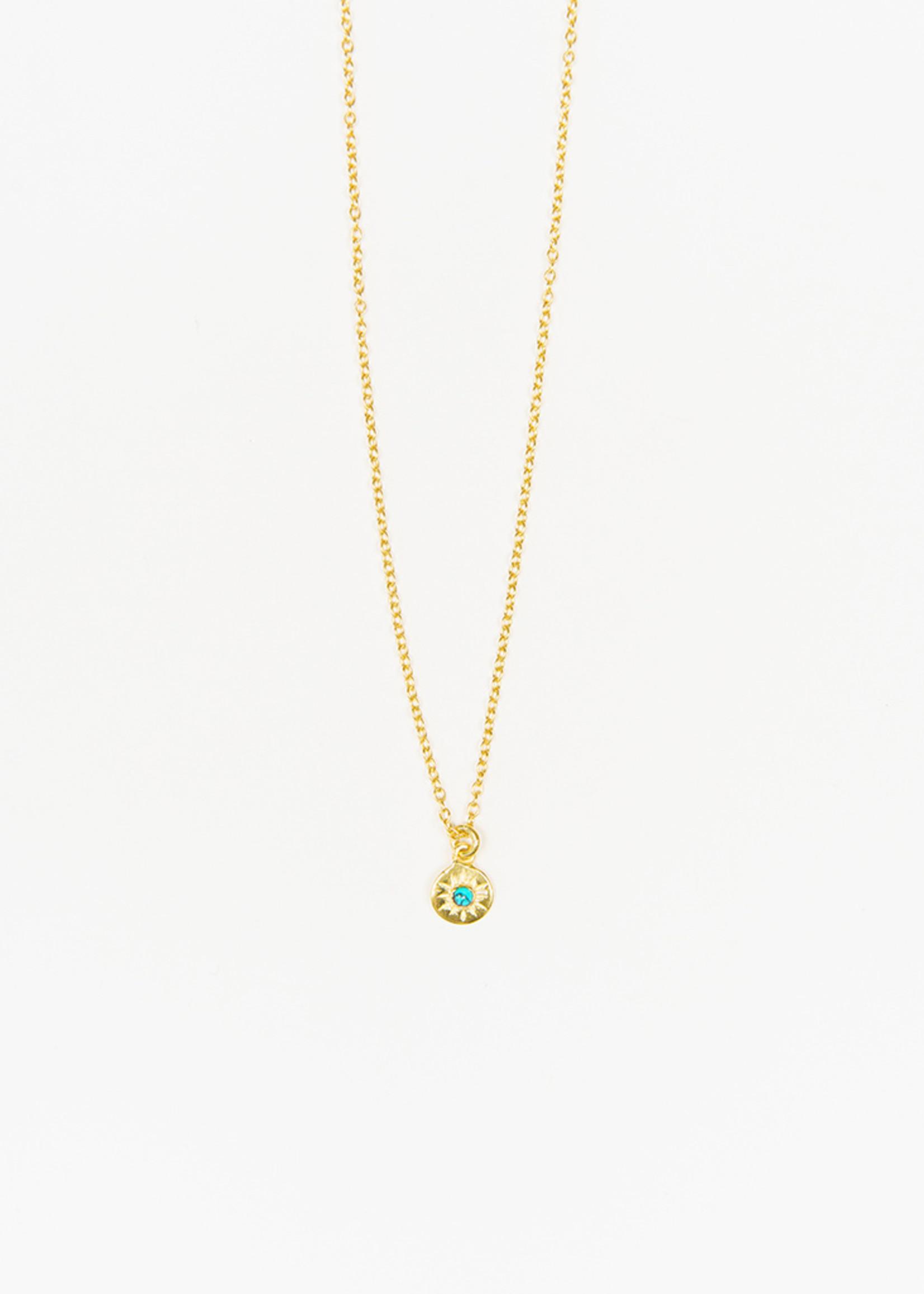 Turquoise Starburst Necklace