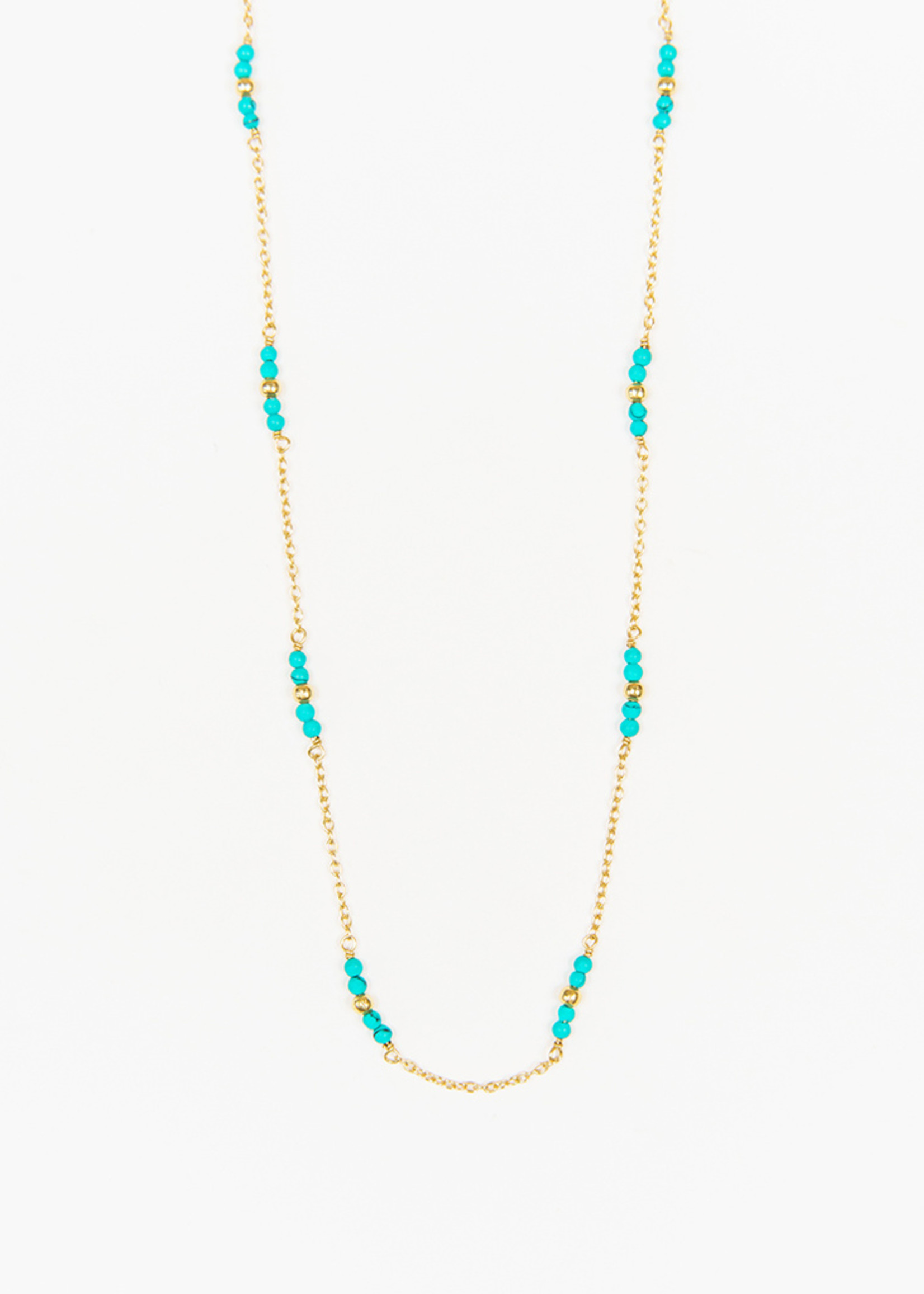 Delicate Turquoise Necklace