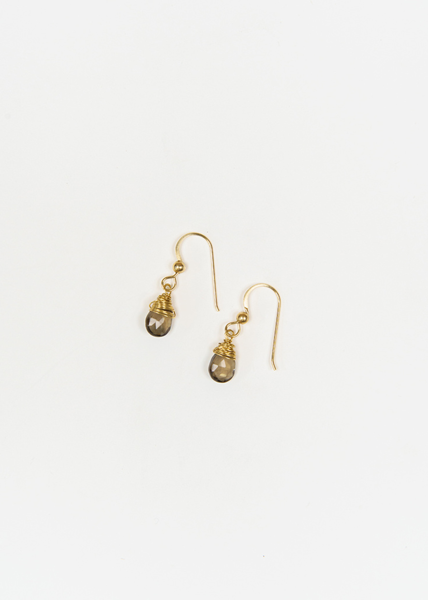 Forai Mingle Drop Smoky Quartz Earrings