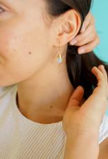 Forai Mingle Drop Aqua Earrings