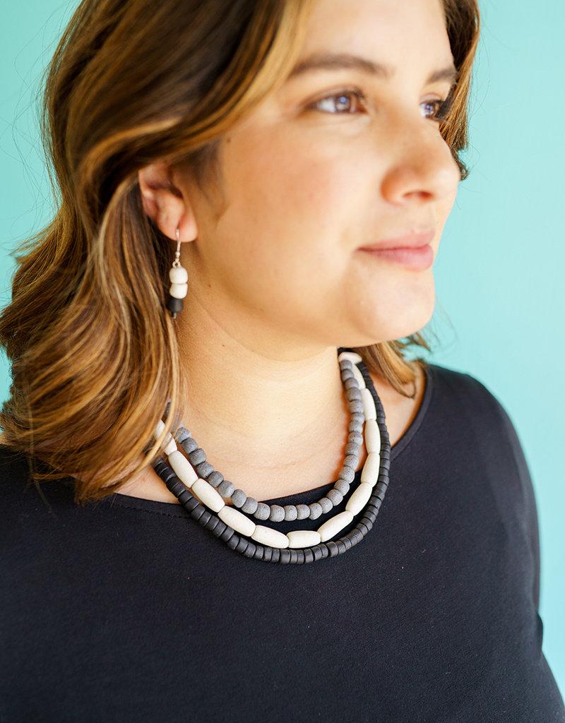 Global Mamas Silver Manye Necklace