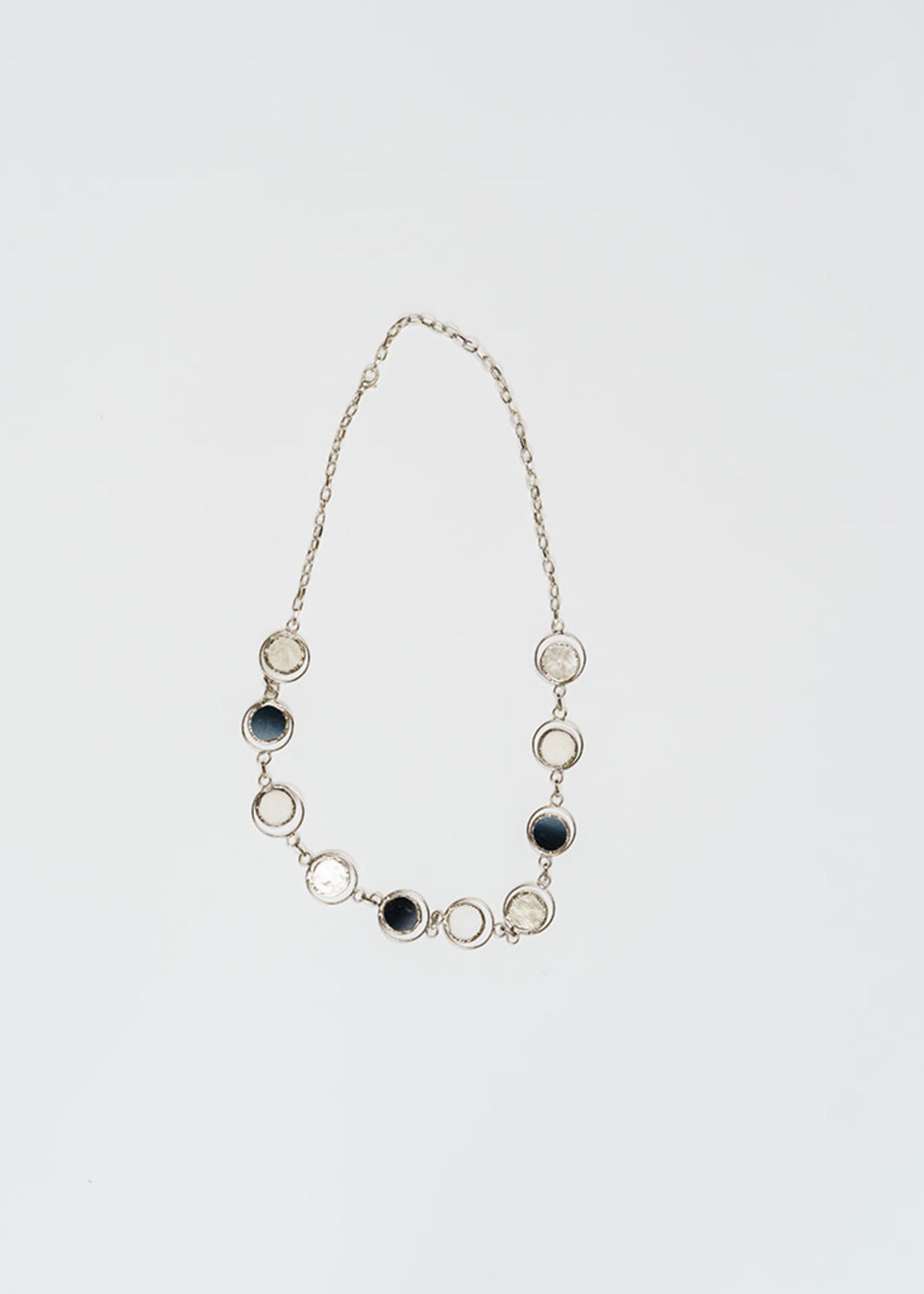 Saffy Handicrafts Moon Phase Necklace