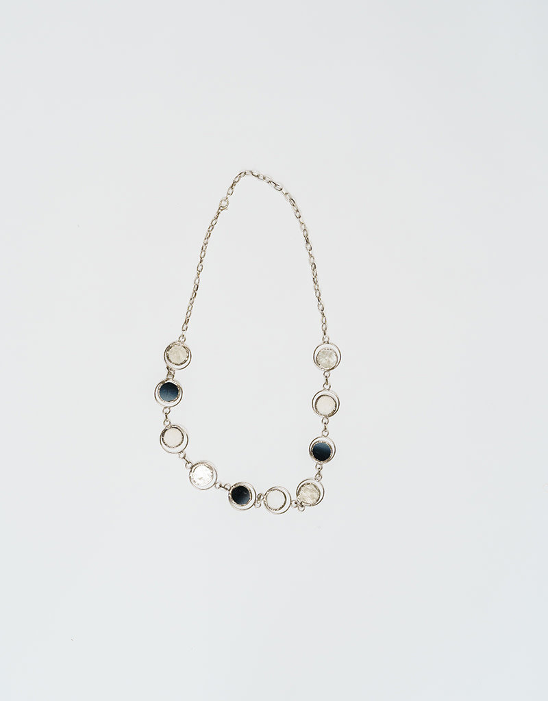 Saffy Handicrafts Moon Phase Necklace