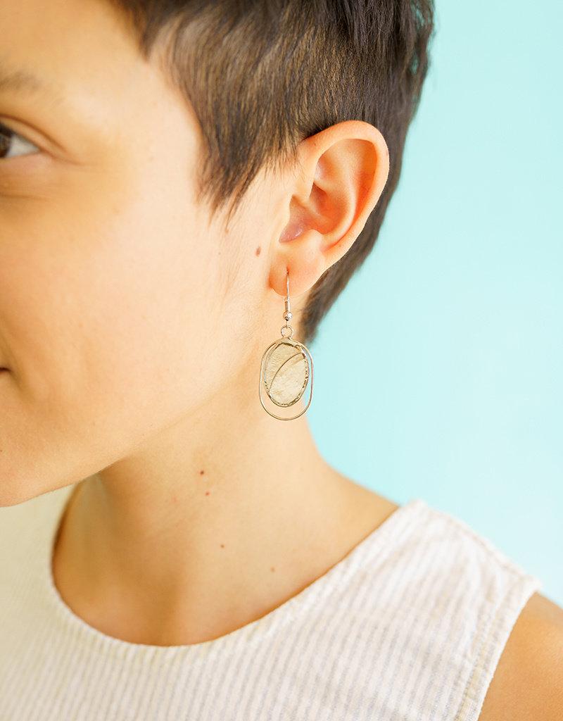Saffy Handicrafts Fair Lady Capiz Earrings
