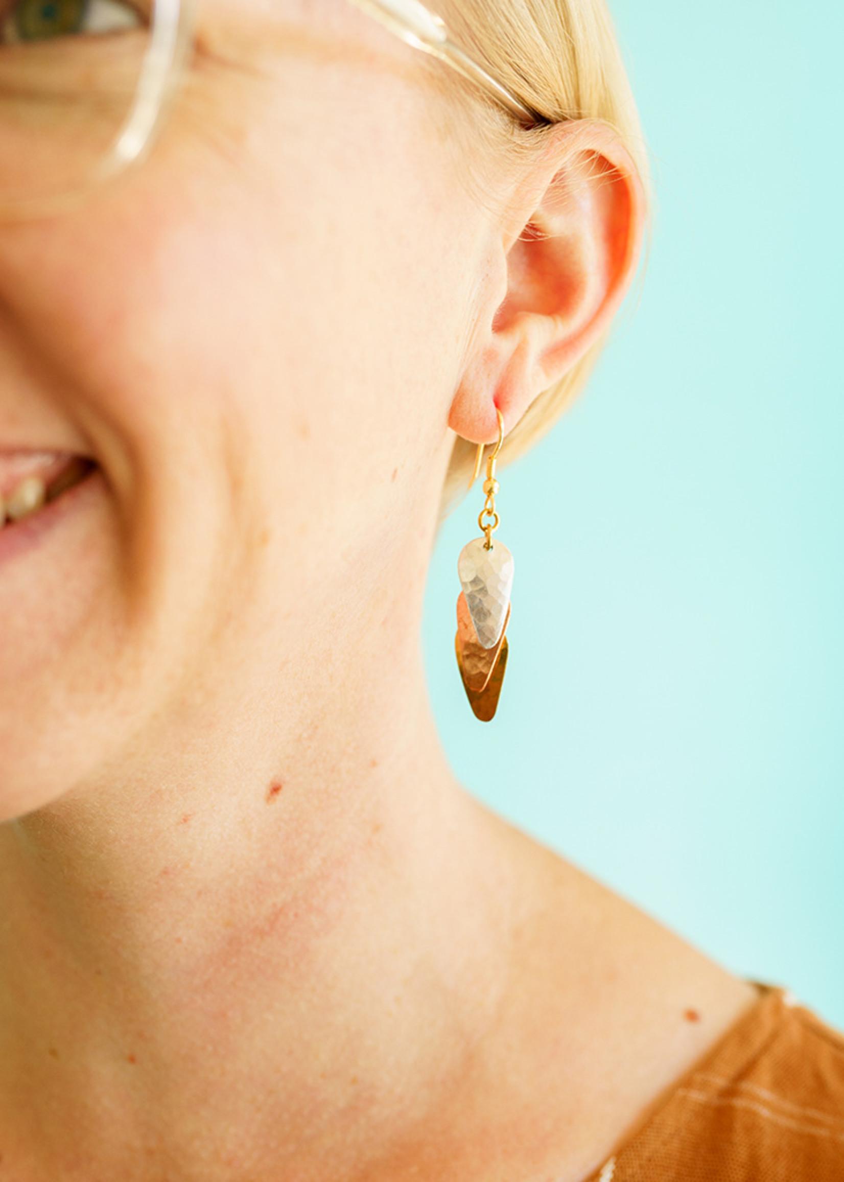 Bombolulu Sunset Trio Earrings