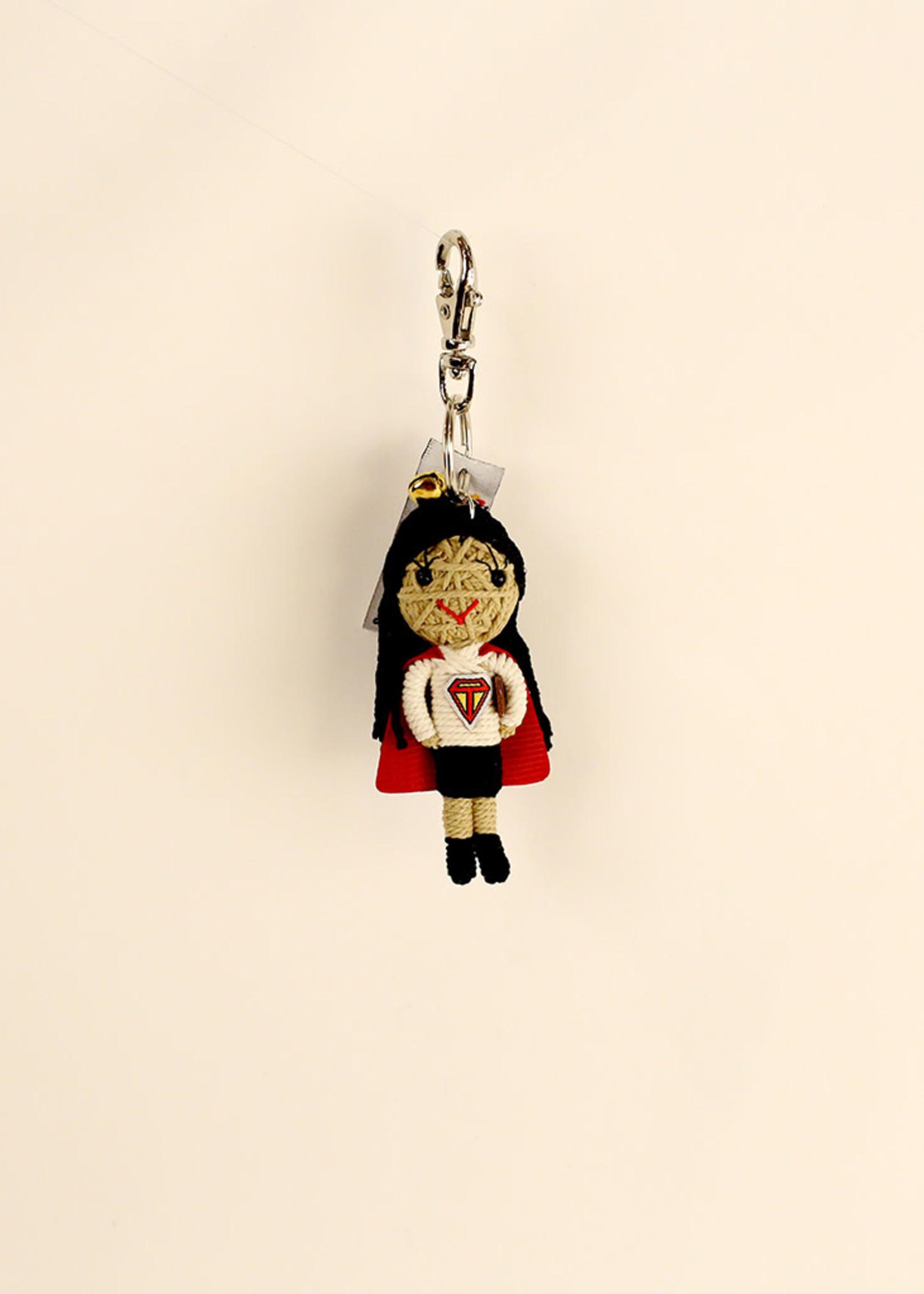 Super Teacher Girl String Doll