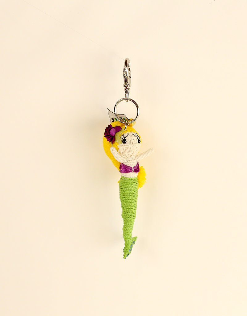 Shelly the Mermaid String Doll