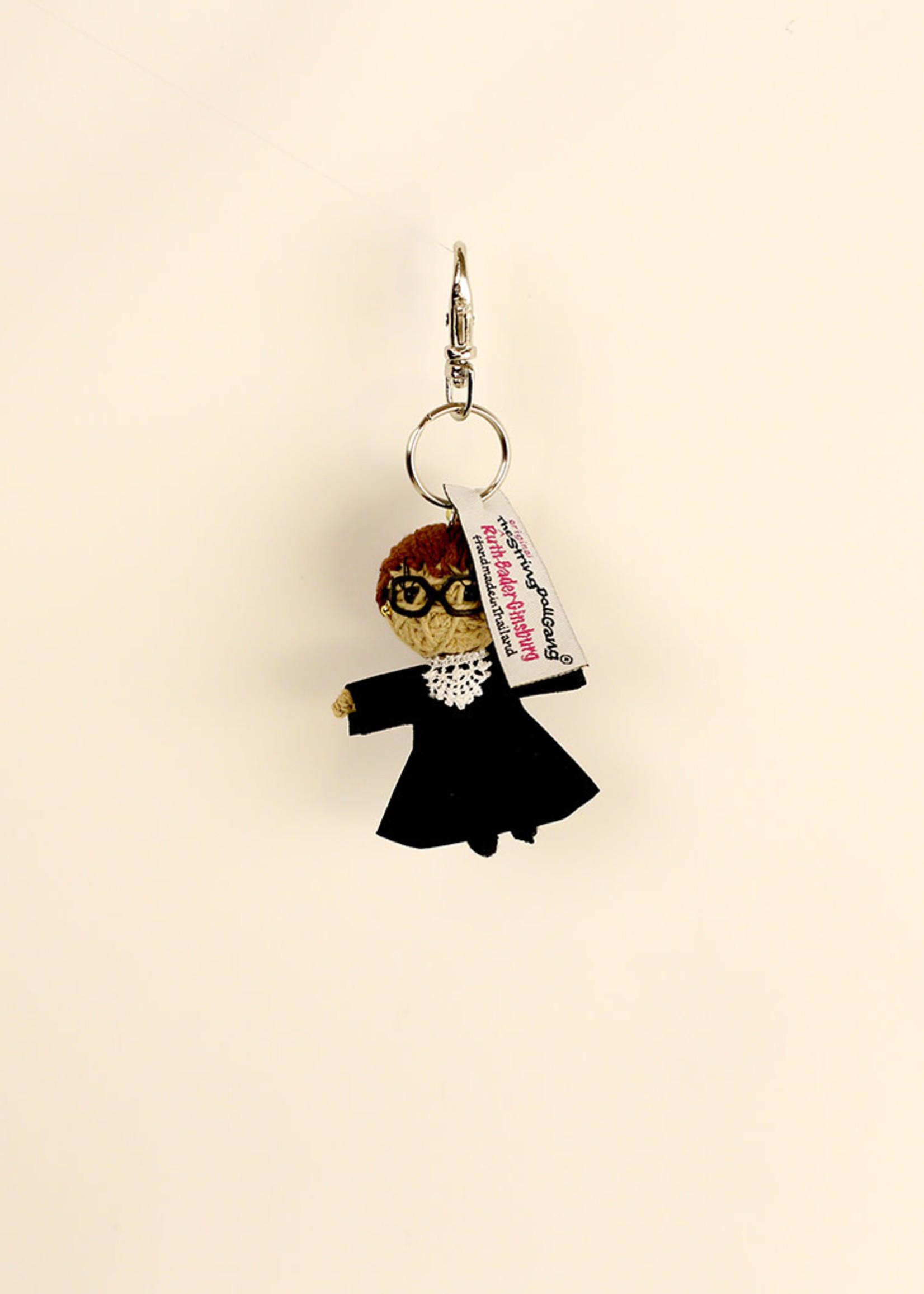 Ruth Bader Ginsburg String Doll