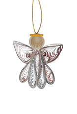 Mai Vietnamese Handicrafts Quilled Paper Angel Ornament
