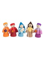 Mai Vietnamese Handicrafts Joyful Coiled Paper Nativity