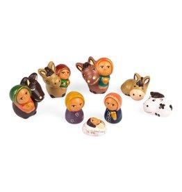 Many Animals Nativity