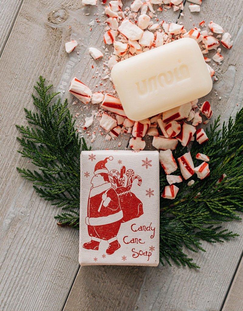 Santa Candy Cane Soap