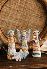 Mai Vietnamese Handicrafts Coiled Paper Nativity