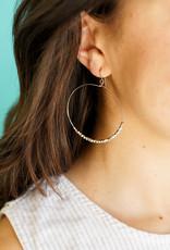 Purpose Jewelry Shimmer Hoop Earrings