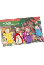 Lucuma Designs Finger Puppet Nativity Set