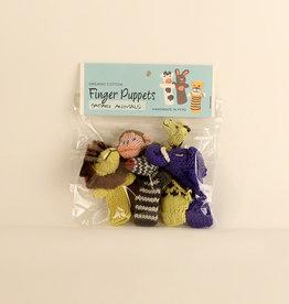 Lucuma Designs Safari Animals Finger Puppet Set