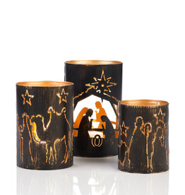 Nativity Story Lanterns 3/set