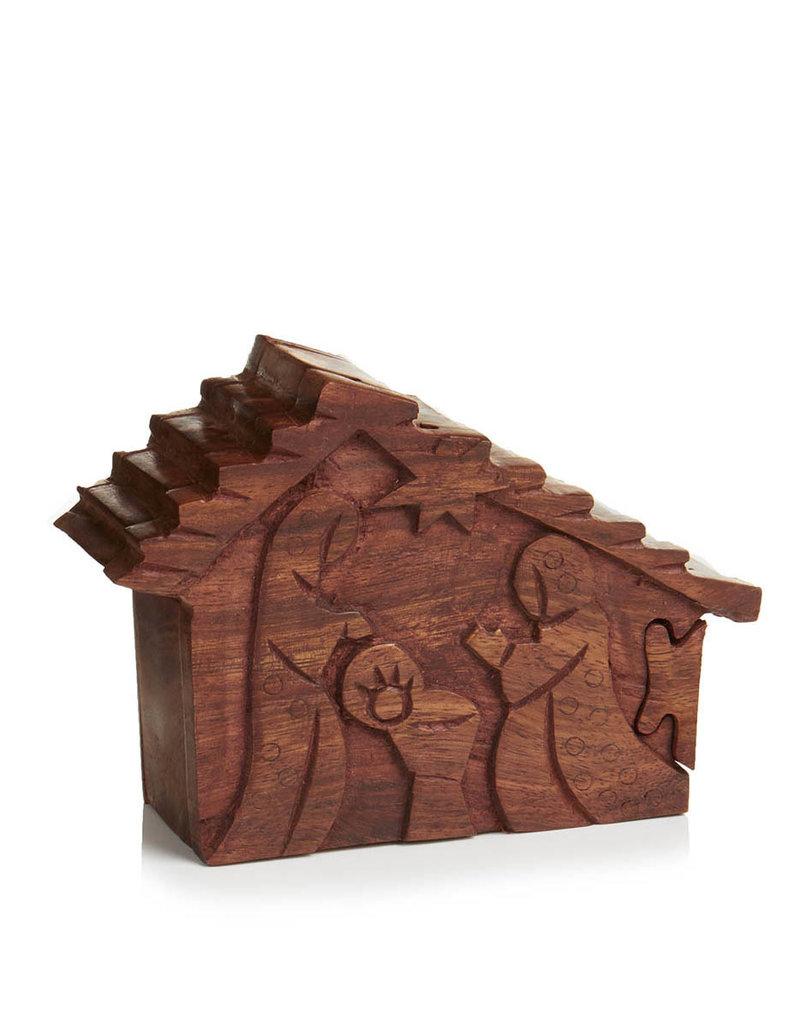 Puzzle Box Nativity