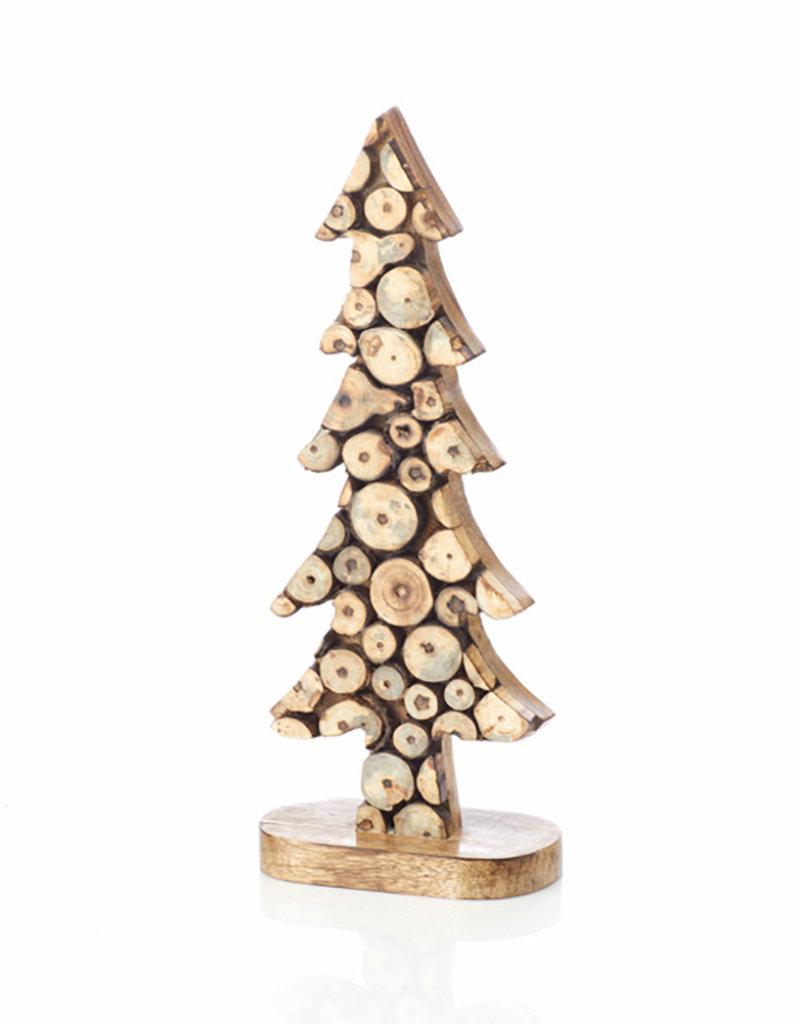 Wood Slice Tree [Med] Décor