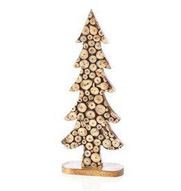 Wood Slice Tree [Lg] Décor