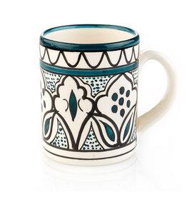 Jasmine Teal Mug