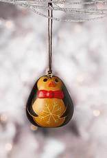 Penguin Bowtie Gourd Ornament