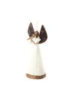 Sisal Trumpeting Angel Ornament