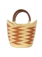 Caramel Volta Wing Shopper Basket