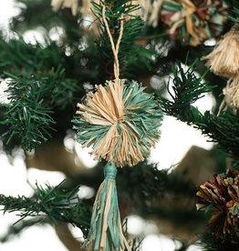 Kazi Mist Pom Pom + Tassel Ornament