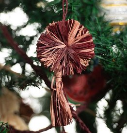 Kazi Berry Pom Pom + Tassel Ornament