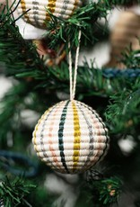 Kazi Blush Metallic Globe Ornament
