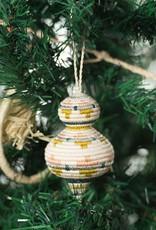 Kazi Rounded Blush Metallic Ornament