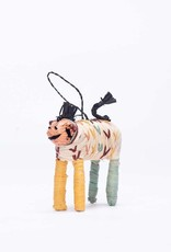 Kazi Colorful Raffia Horse Ornament