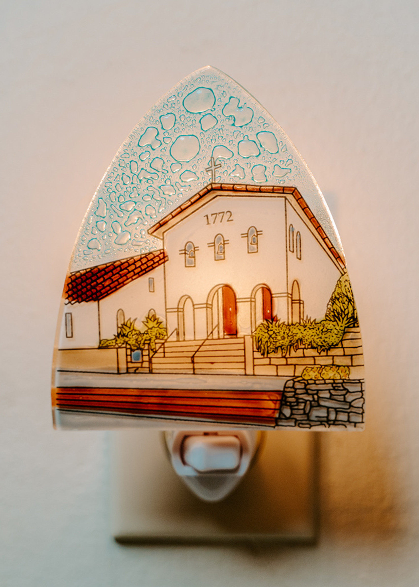 Mission San Luis Obispo Night Light