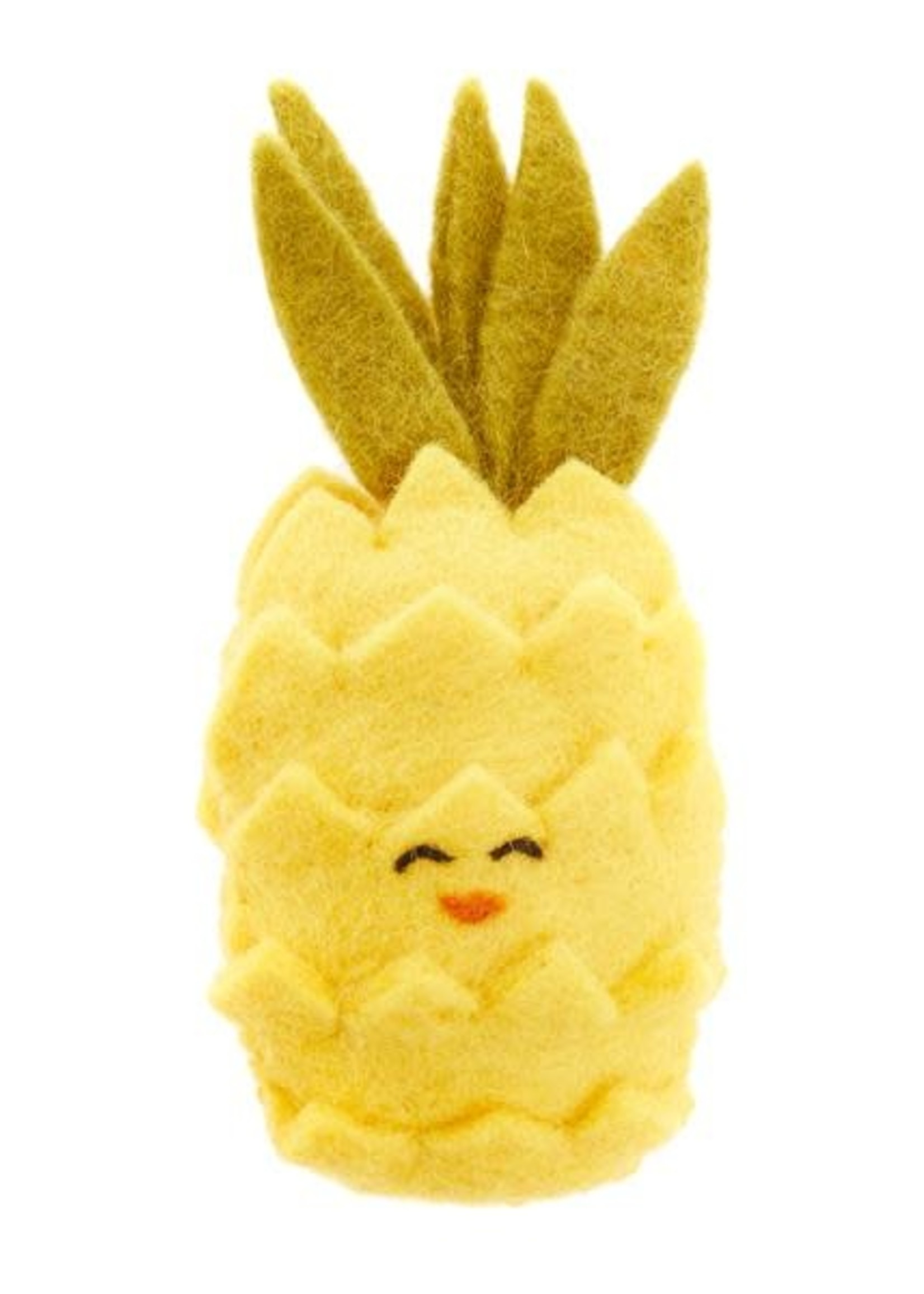 Global Goods Partners Felt Pineapple Toy