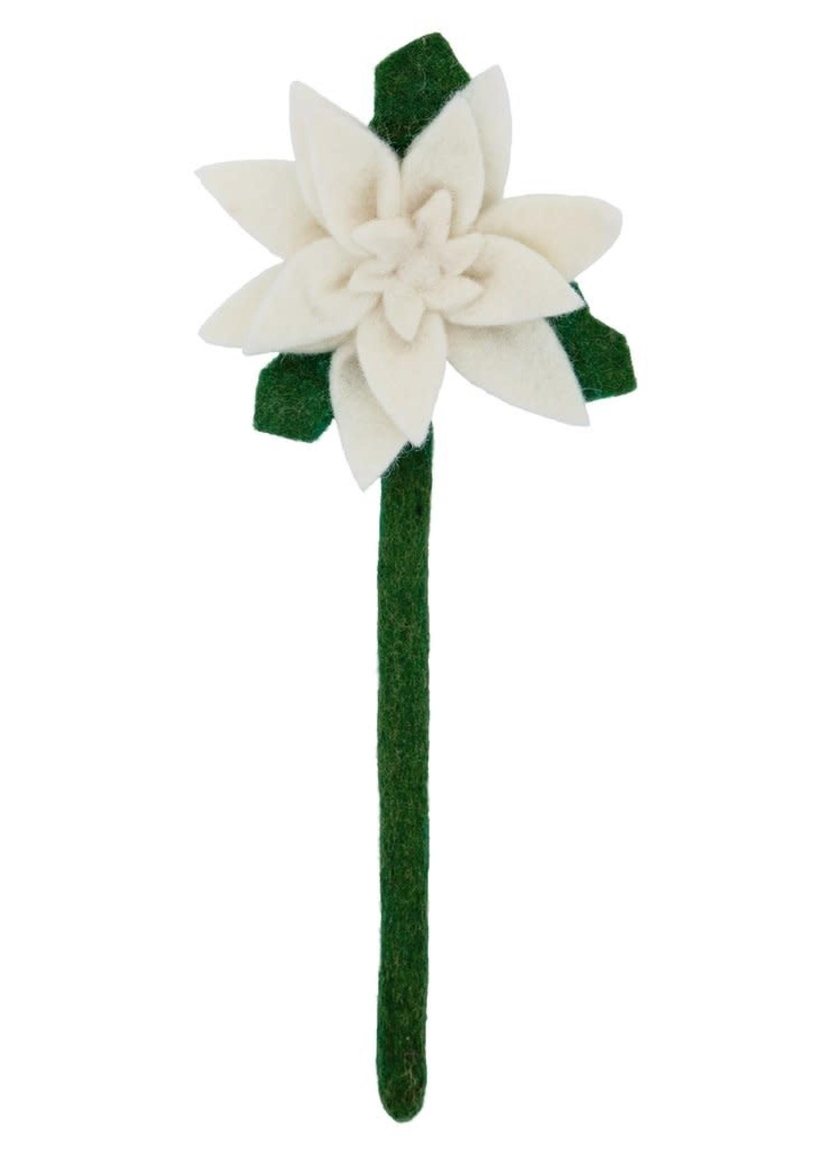 Global Goods Partners Felt Poinsettia Flower