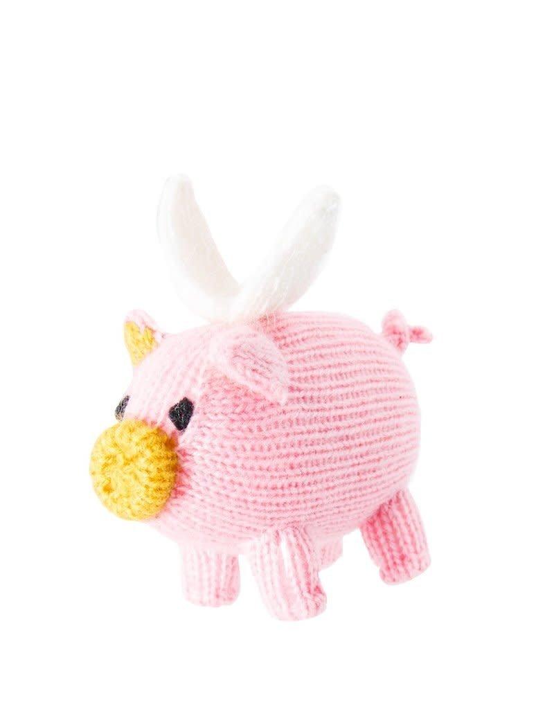 Global Goods Partners Flying Pig Ornament
