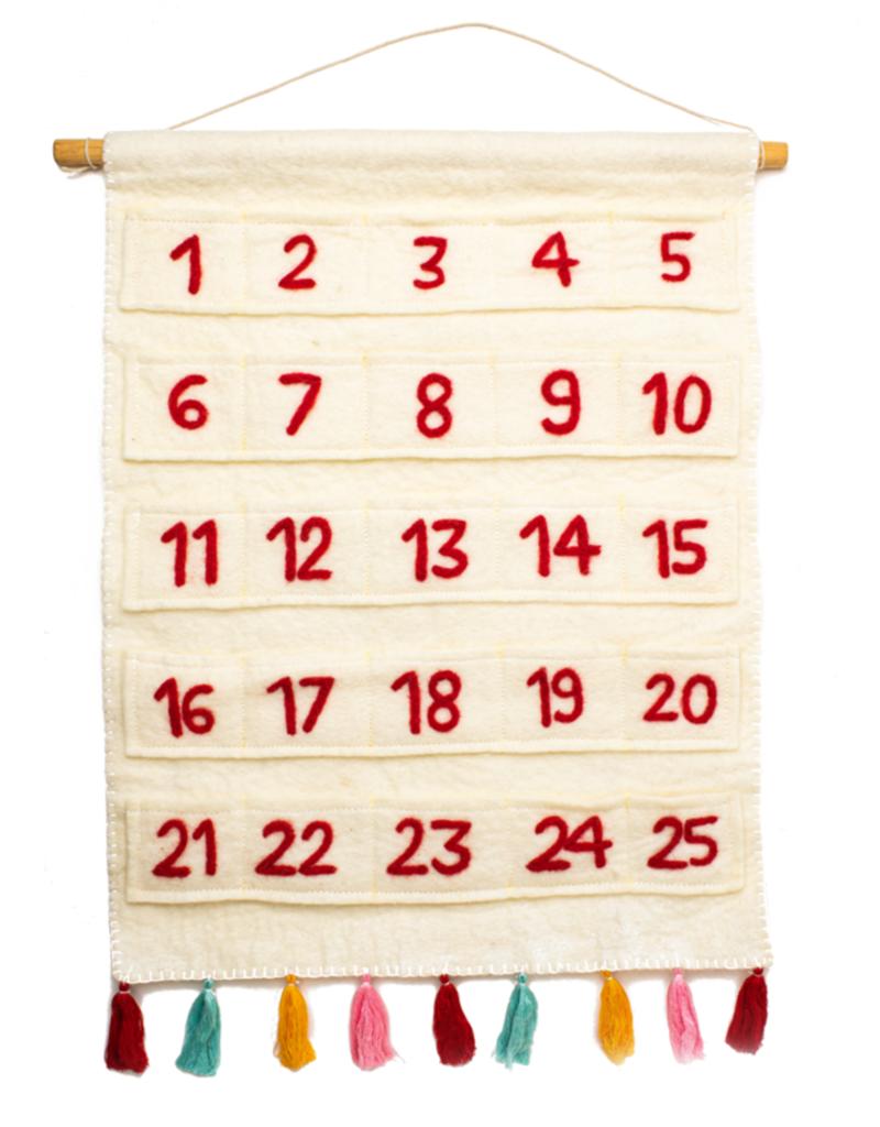 Global Goods Partners Felt Advent Calendar