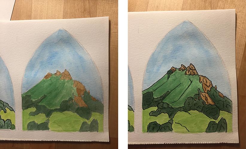 Bishop's Peak Process Photos