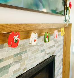 Global Goods Partners Felt Holiday Sweater Garland