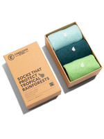 Conscious Step Men's Box of Socks That Protect Rainforests